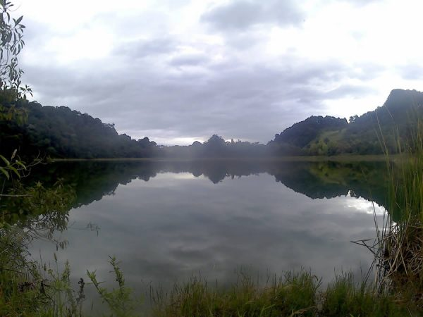 The Pedro Palo Lake. A trip with volunteer in Colombia.1