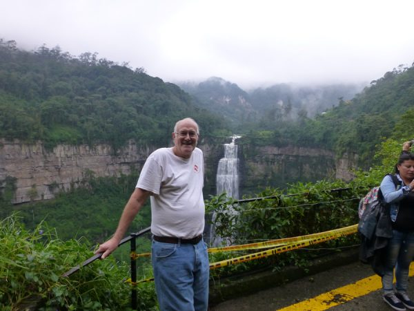 Tequendama Waterfall a thing to do with Volunteer in Colombia.3