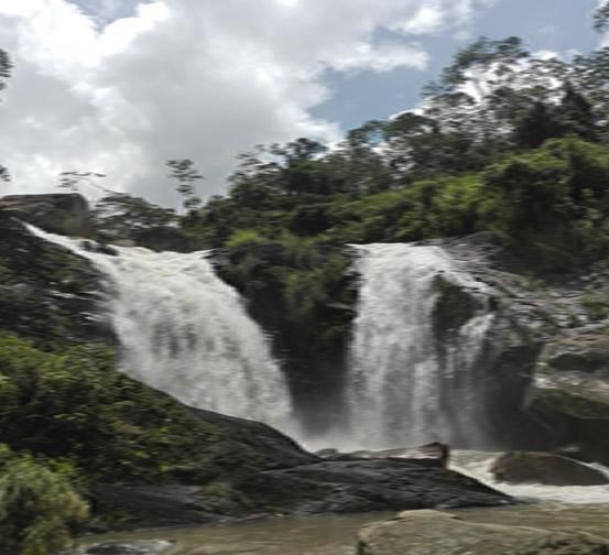The Waterfall La Monja