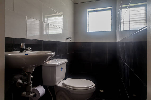 Main Toilet at the Volunteer House