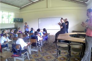 Volunteer in Colombia Teaching project. Despues